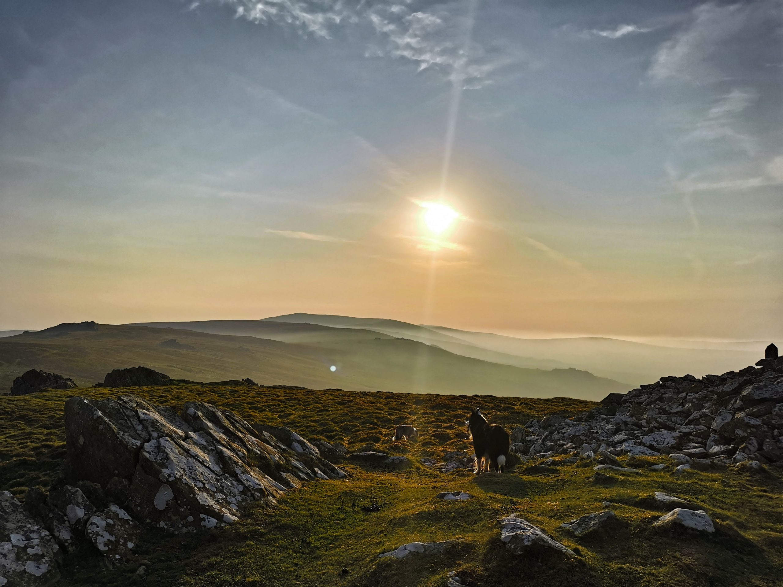 Foel Drygarn at sunset taken by Sophie Jenkins